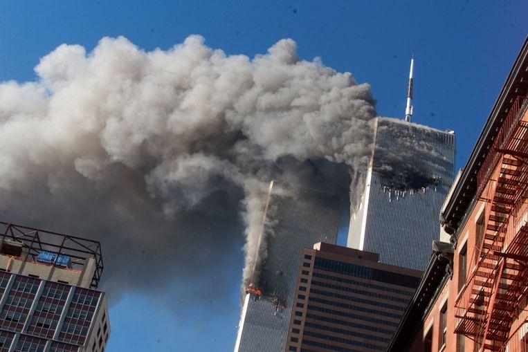 Amerikaans trauma: de aanslag van 11 september 2001 leidde tot de Amerikaanse inval in Afghanistan. Beeld AP