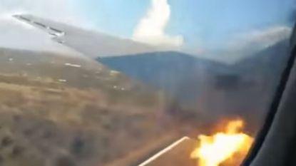 """""""Dit gaat heel erg mis"""": passagier filmde vliegtuigcrash van binnenuit"""