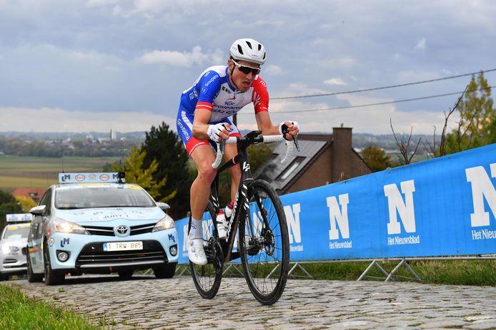 Stefan Küng tijdens de Ronde van Vlaanderen.