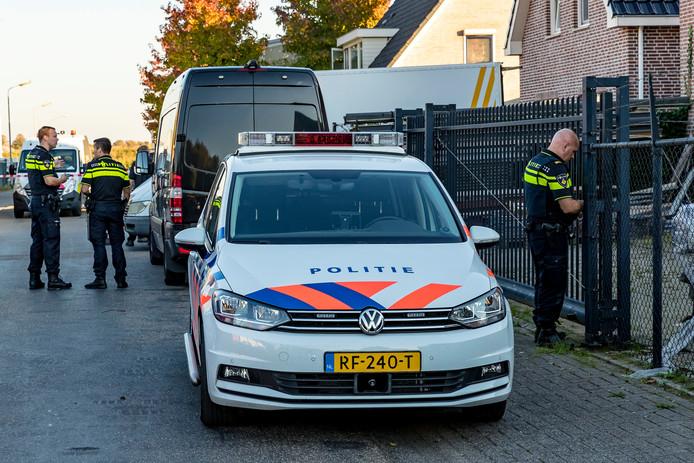Drugslab gevonden in Lage Zwaluwe.