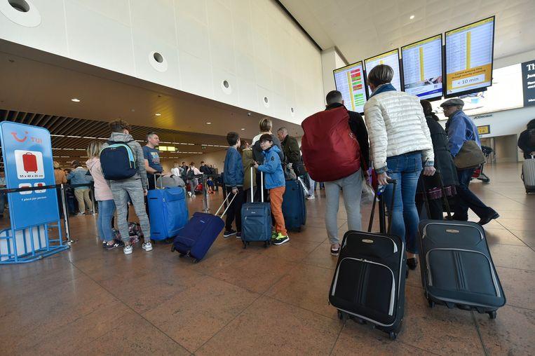 Ook op Brussels Airport zijn de vluchten van en naar Kopenhagen, Stockholm en Oslo getroffen.
