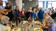 VIDEO: Bewoners WZC Compostela en kinderen sluiten 2018 samen feestelijk af