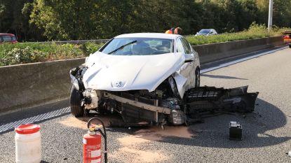Drie gewonden bij ongeval op E17