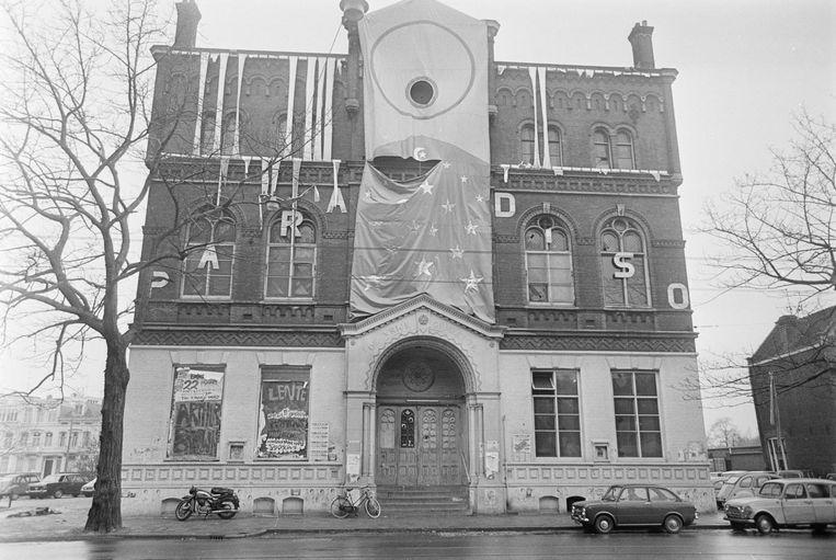 Toen 'Cosmisch ontspanningscentrum Paradiso' net geopend was, in 1969. Beeld anp