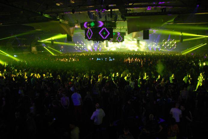 Zo'n 25.000 mensen kwamen zaterdag af op Masters of Hardcore in de Brabanthallen.