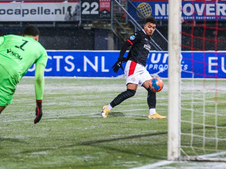 Samenvatting: Sparta en PSV maken er spektakelstuk van in de sneeuw
