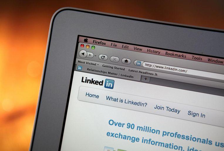 Selecteer via LinkedIn een medewerker die je aanspreekt en vraag of je kan komen kennismaken Beeld afp