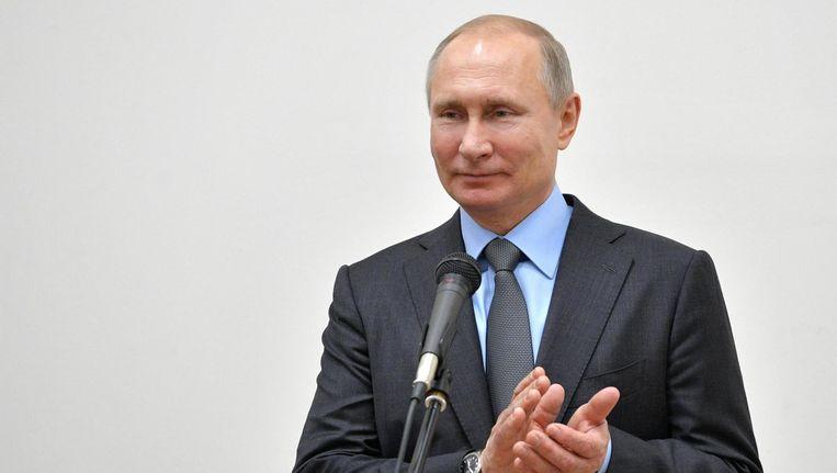 President Poetin Beeld epa