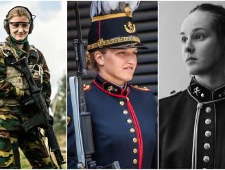 """Net als prinses Elisabeth studeren Sophy (21) en Laura (20) aan de Koninklijke Militaire School: """"Hier leren vrouwen tenminste hoe ze een leider kunnen zijn"""""""