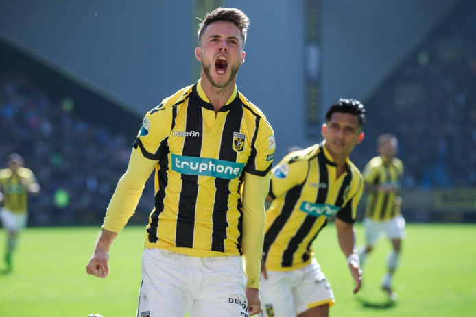 Vitesse-speler Ricky van Wolfswinkel.