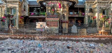 Kermis duurzamer: 'Roze loper van gebruikte plastic bekers'