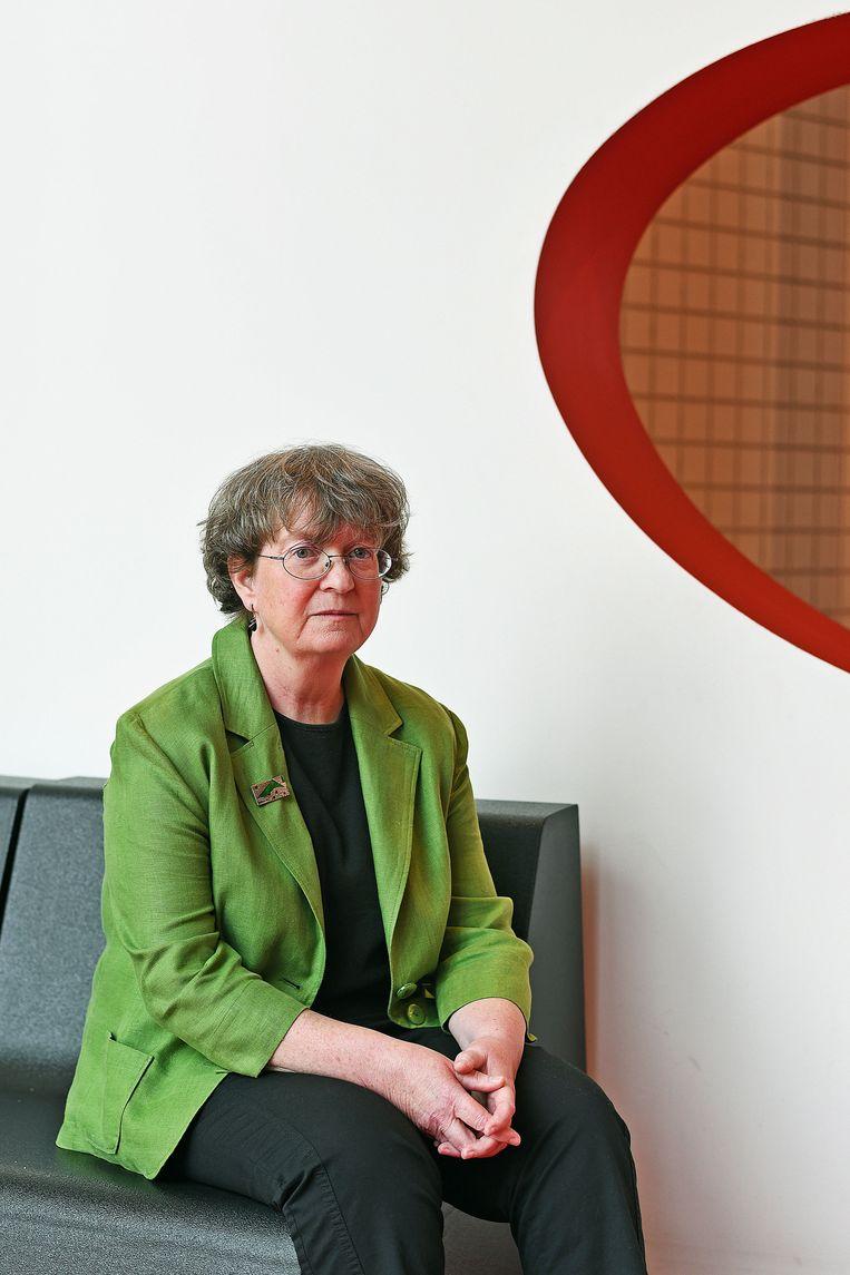 Adrienne Cullen.  Beeld Guus Dubbelman / de Volkskrant