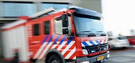 Brand bij Outdoor Valley in Bergschenhoek