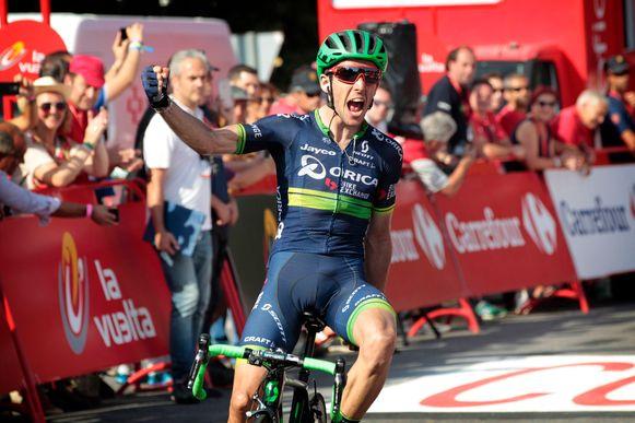 Simon Yates in de Vuelta van 2016.