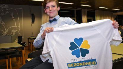 "Willem (11) is jongste gezondheidsambassadeur van Wevelgem: ""Ik verloor opa die rookte aan longkanker"""