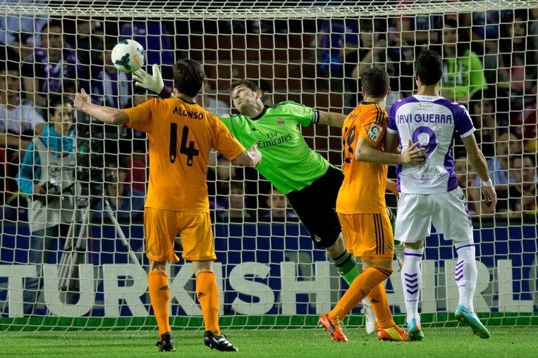 Casillas heeft geen verhaal tegen de kopslag van Osorio.