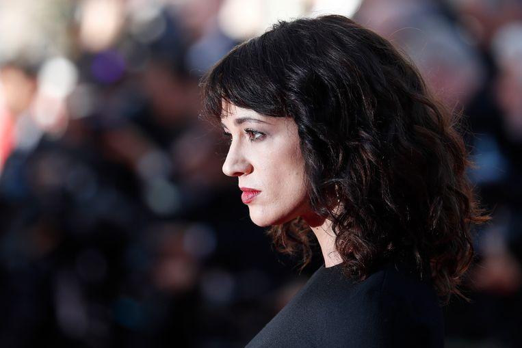 Asia Argento bij het filmfestival in Cannes. Beeld EPA