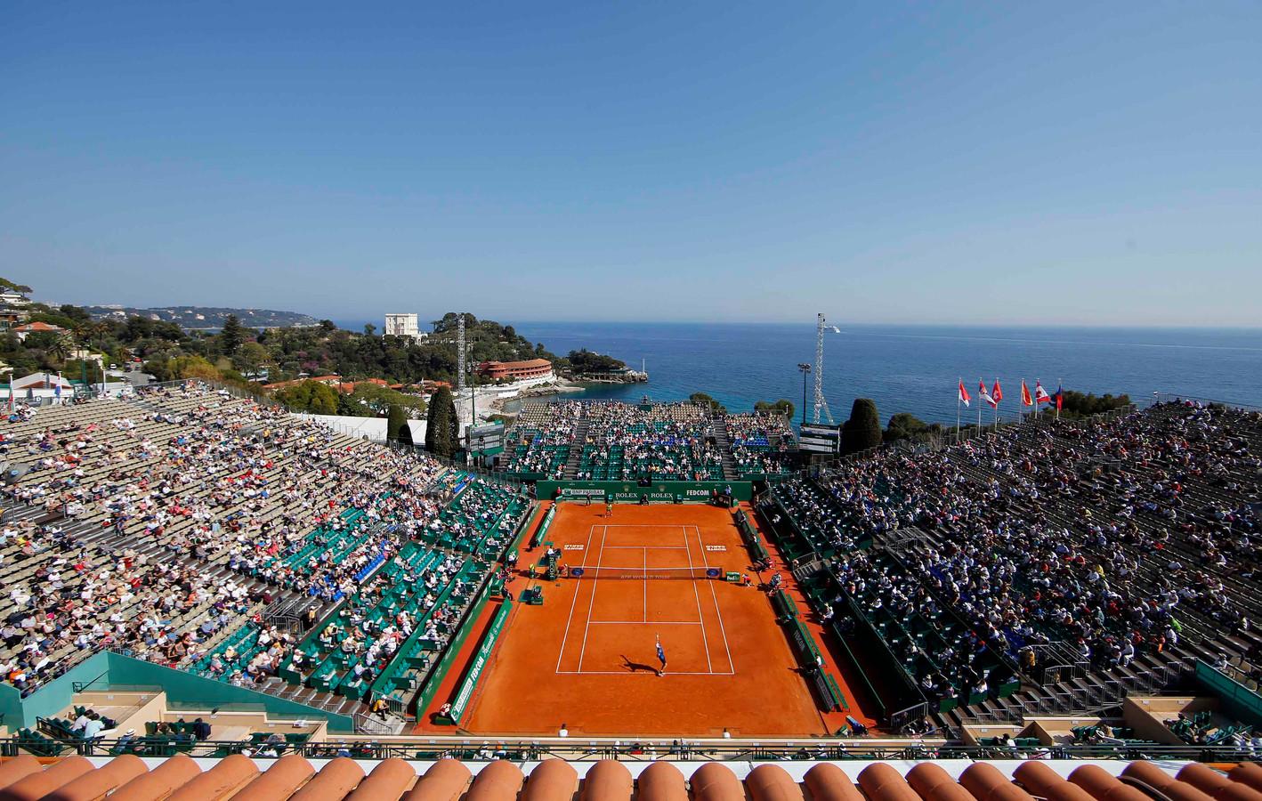 De Monte Carlo Country Club in Monaco is in deze week in april het toneel van de Monte Carlo Masters.