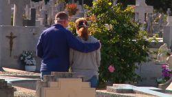 Triest beeld: Slechts twee mensen mogen begrafenis bijwonen in Spanje