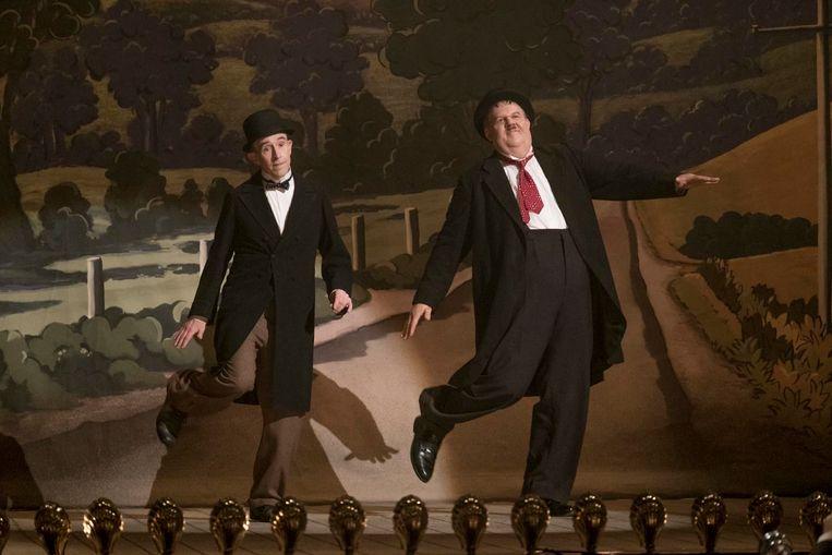 Filmstill uit Stan & Ollie Beeld AP