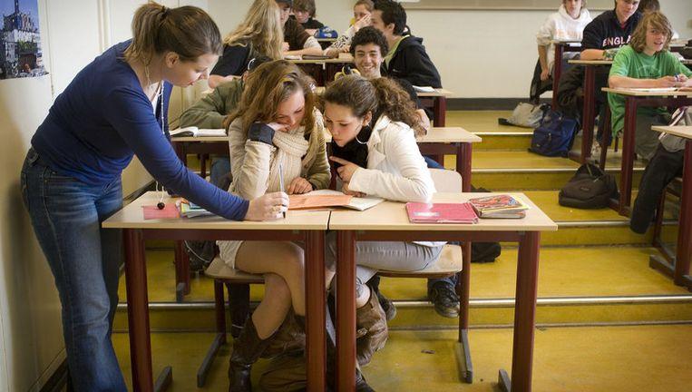 Donderdag wordt in Nederland de dag van de leerplicht gehouden, bedoeld om jongeren, ouders en scholen te wijzen op het belang van schoolgaan. Archieffoto ANP Beeld