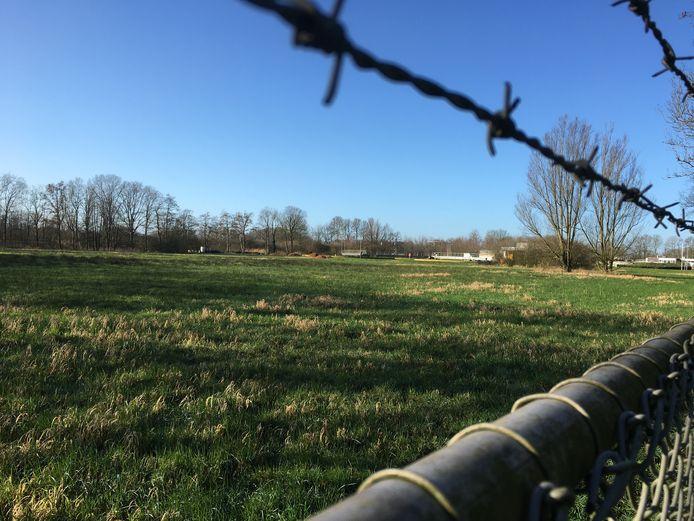 Het terrein aan de Oisterwijksedreef in Haaren waar zonneweide Nemerstroom komt.