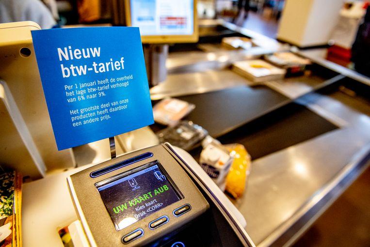 Over een periode van tien jaar gezien, vallen de prijsstijgingen van eten weer mee.  Beeld ROBIN UTRECHT