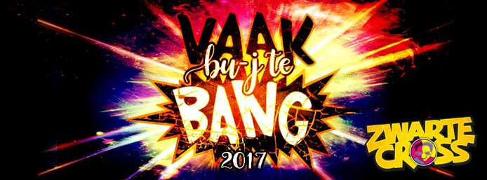Vaak bu-j te bang! is de slogan van de Zwarte Cross in 2017.