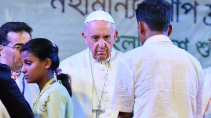 Paus spreekt 'taboewoord Rohingya' toch uit