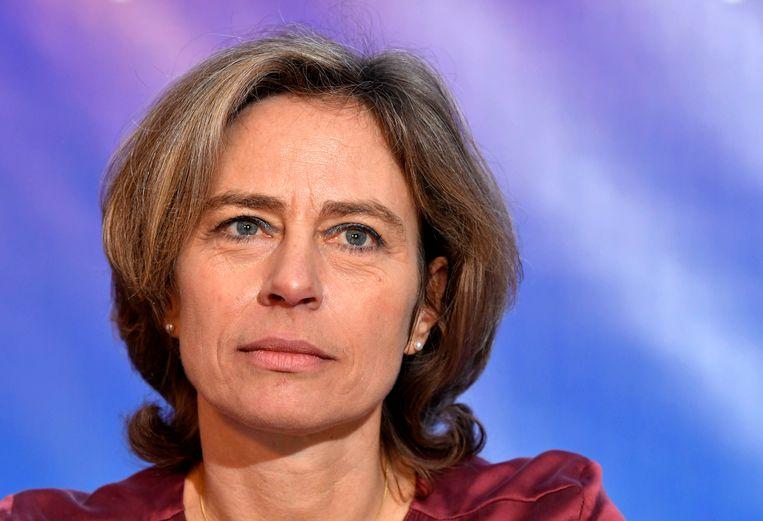 Proximus-topvrouw Dominique Leroy.
