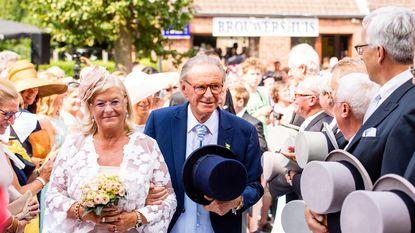 Ruim 1.000 toeschouwers voor huwelijk Willy Naessens