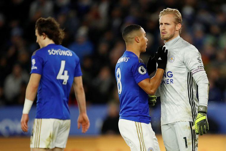 Youri Tielemans viel na 77 minuten in bij Leicester en kon niet voorkomen dat ze de onderuit gingen