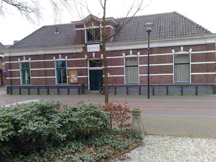 Dorpshuis Het Noaberhuus in Hellendoorn, waar volgend jaar een reünie van de 'Bar' is gepland.