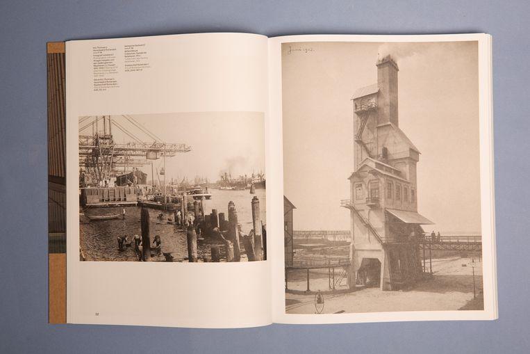Het fotoboek 'Rotterdam werkt! – Fotografie in opdracht 1864-heden'. Beeld Studio V