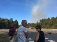 Rookpluimen boven de Veluwe: 't Harde denkt meteen terug aan De Brand van 1970