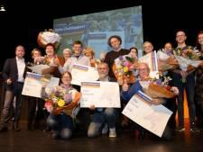 Rabobank Uden Veghel maakt clubs blij met vette cheque