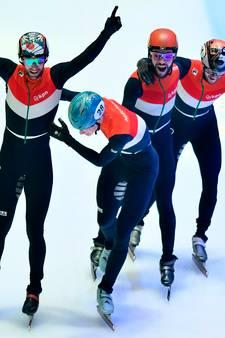 Nederlandse mannen wereldkampioen aflossing