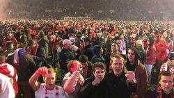 """Felicitaties voor Antwerp stromen binnen: """"Stamnummer 1 is terug waar het hoort te zijn, in eerste klasse"""""""