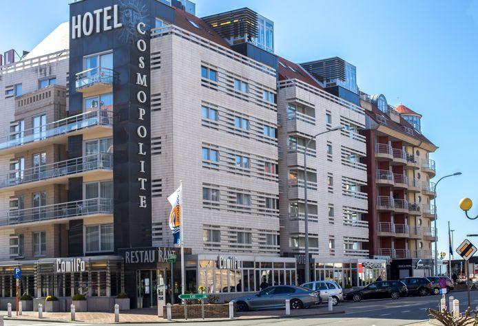 Hotel Cosmopolite in Nieuwpoort.
