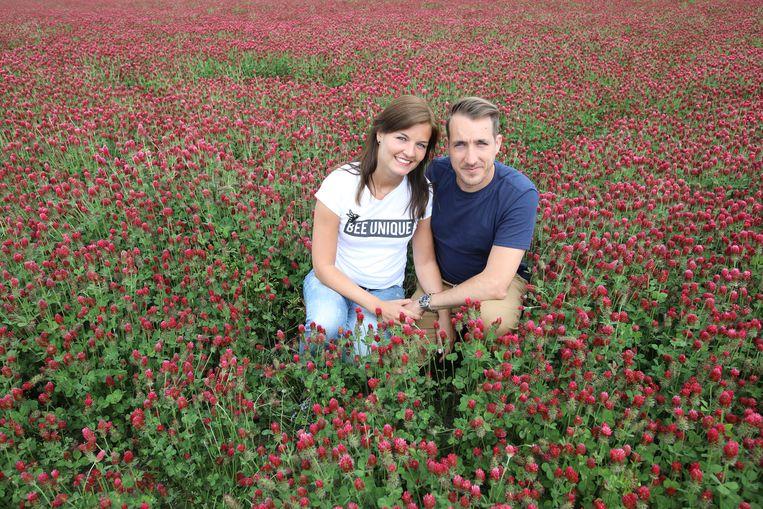 Andy Peelman en zijn vrouw Tine.