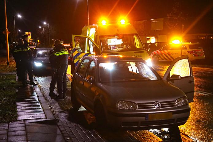 Een automobilist is woensdagnacht aangehouden na een ongeval op de Berghemseweg in Oss.