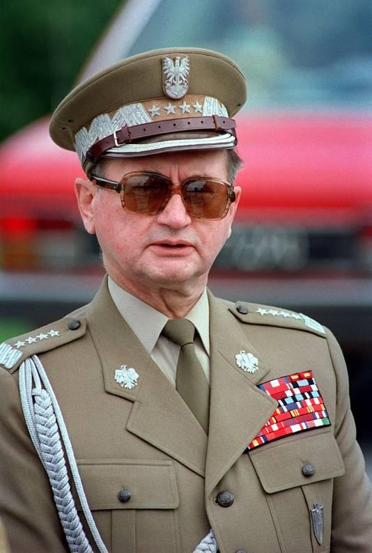 Jaruzelski in 1989.