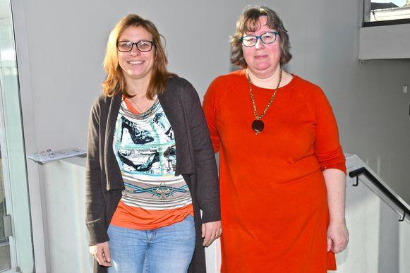 Brenda en Sylvie zijn de nieuwe verantwoordelijken van het dierenasielcentrum.