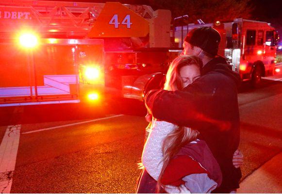 Bij de schietpartij in Thousand Oaks vielen afgelopen nacht twaalf doden.