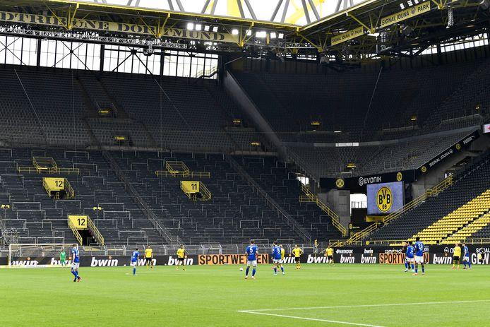 Geen Gelbe Wand in Dortmund.
