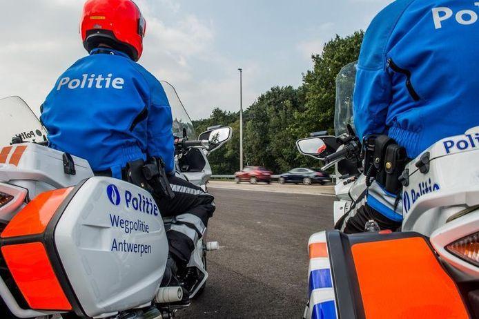 Leden van de wegpolitie Antwerpen. Foto ter illustratie.