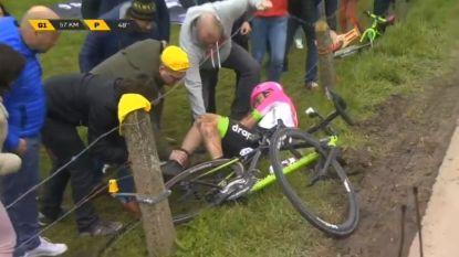 'Vlaanderens mooiste' of 'Vlaanderens pijnlijkste'? Valpartijen bij de vleet in 102de Ronde