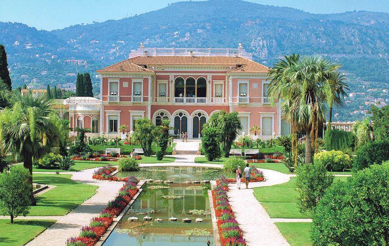 Villa Ephrussi-de-Rothschild in het prestigieuze Saint-Jean-Cap-Ferrat.