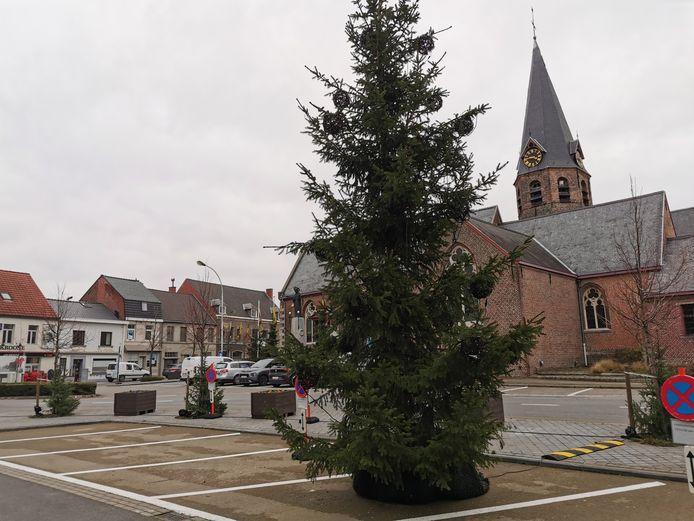 Kerstsfeer in Lendelede.