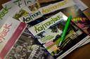 Een greep uit het materiaal waarmee Achterhoek Toerisme toeristen voor actieve vakanties naar de regio hoopt te trekken  Foto Carlo ter Ellen DTCT  CTE20150206